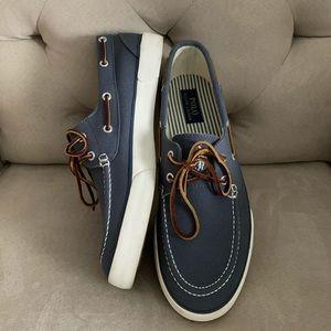 Ralph Lauren Polo - Blue Sander Canvas shoes